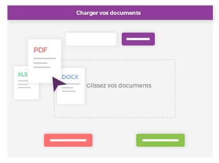 Envoyez vos fax en chargeant vos documents
