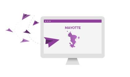 Obtenez un numéro de fax à Mayotte